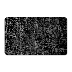 Old Black Background Magnet (rectangular)