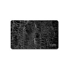 Old Black Background Magnet (Name Card)