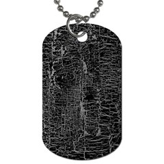 Old Black Background Dog Tag (One Side)