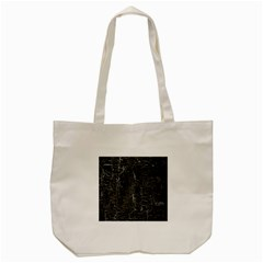 Old Black Background Tote Bag (Cream)