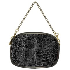 Old Black Background Chain Purses (two Sides)