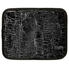 Old Black Background Netbook Case (xxl)