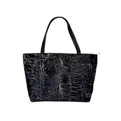 Old Black Background Shoulder Handbags