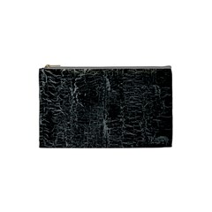 Old Black Background Cosmetic Bag (Small)