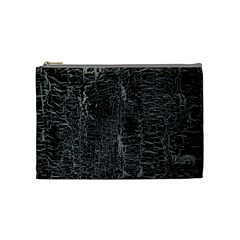 Old Black Background Cosmetic Bag (Medium)