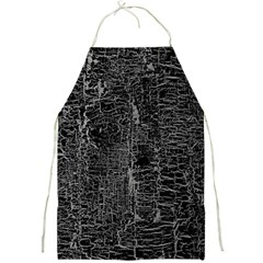Old Black Background Full Print Aprons