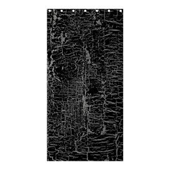 Old Black Background Shower Curtain 36  x 72  (Stall)