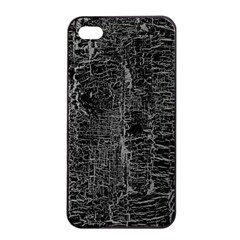 Old Black Background Apple iPhone 4/4s Seamless Case (Black)