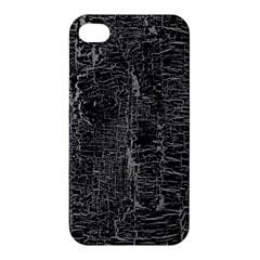 Old Black Background Apple iPhone 4/4S Hardshell Case