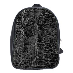 Old Black Background School Bags (xl)