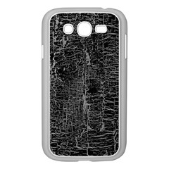 Old Black Background Samsung Galaxy Grand Duos I9082 Case (white)
