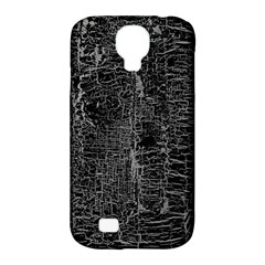 Old Black Background Samsung Galaxy S4 Classic Hardshell Case (PC+Silicone)