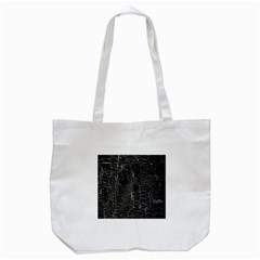 Old Black Background Tote Bag (White)