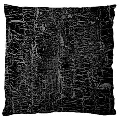 Old Black Background Large Flano Cushion Case (one Side)