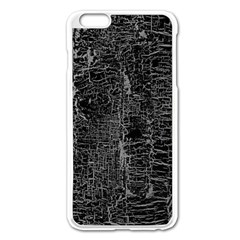 Old Black Background Apple iPhone 6 Plus/6S Plus Enamel White Case