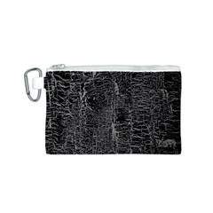 Old Black Background Canvas Cosmetic Bag (S)