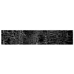 Old Black Background Flano Scarf (Small)