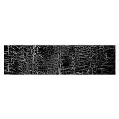 Old Black Background Satin Scarf (Oblong)