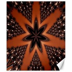 Digital Kaleidoskop Computer Graphic Canvas 20  x 24