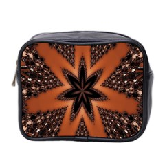 Digital Kaleidoskop Computer Graphic Mini Toiletries Bag 2-Side