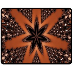 Digital Kaleidoskop Computer Graphic Fleece Blanket (Medium)