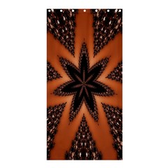 Digital Kaleidoskop Computer Graphic Shower Curtain 36  X 72  (stall)