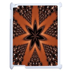 Digital Kaleidoskop Computer Graphic Apple iPad 2 Case (White)