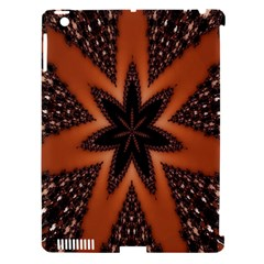 Digital Kaleidoskop Computer Graphic Apple iPad 3/4 Hardshell Case (Compatible with Smart Cover)