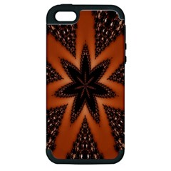 Digital Kaleidoskop Computer Graphic Apple Iphone 5 Hardshell Case (pc+silicone)