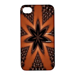Digital Kaleidoskop Computer Graphic Apple iPhone 4/4S Hardshell Case with Stand