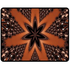 Digital Kaleidoskop Computer Graphic Double Sided Fleece Blanket (medium)