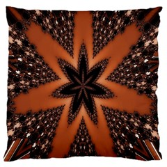 Digital Kaleidoskop Computer Graphic Large Flano Cushion Case (One Side)