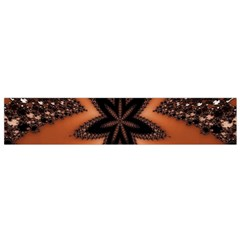 Digital Kaleidoskop Computer Graphic Flano Scarf (Small)
