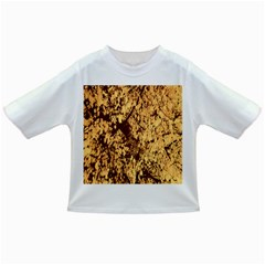 Abstract Brachiate Structure Yellow And Black Dendritic Pattern Infant/Toddler T-Shirts