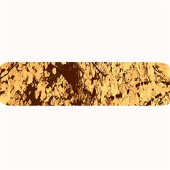 Abstract Brachiate Structure Yellow And Black Dendritic Pattern Large Bar Mats