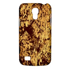 Abstract Brachiate Structure Yellow And Black Dendritic Pattern Galaxy S4 Mini