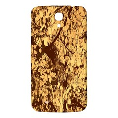 Abstract Brachiate Structure Yellow And Black Dendritic Pattern Samsung Galaxy Mega I9200 Hardshell Back Case
