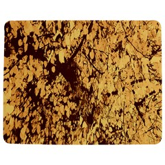 Abstract Brachiate Structure Yellow And Black Dendritic Pattern Jigsaw Puzzle Photo Stand (Rectangular)