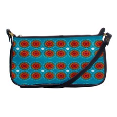 Floral Seamless Pattern Vector Shoulder Clutch Bags