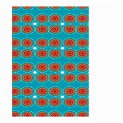 Floral Seamless Pattern Vector Small Garden Flag (two Sides)