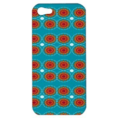 Floral Seamless Pattern Vector Apple Iphone 5 Hardshell Case