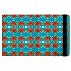 Floral Seamless Pattern Vector Apple iPad 2 Flip Case