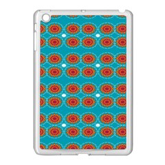 Floral Seamless Pattern Vector Apple iPad Mini Case (White)