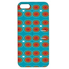 Floral Seamless Pattern Vector Apple iPhone 5 Hardshell Case with Stand