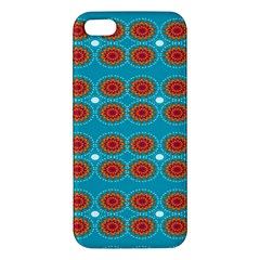Floral Seamless Pattern Vector Apple Iphone 5 Premium Hardshell Case