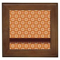 Floral Seamless Pattern Vector Framed Tiles