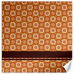 Floral Seamless Pattern Vector Canvas 12  X 12