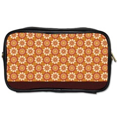 Floral Seamless Pattern Vector Toiletries Bags