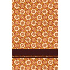 Floral Seamless Pattern Vector 5 5  X 8 5  Notebooks