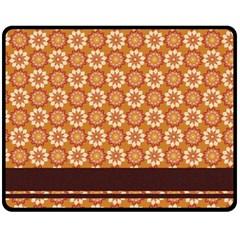 Floral Seamless Pattern Vector Fleece Blanket (Medium)